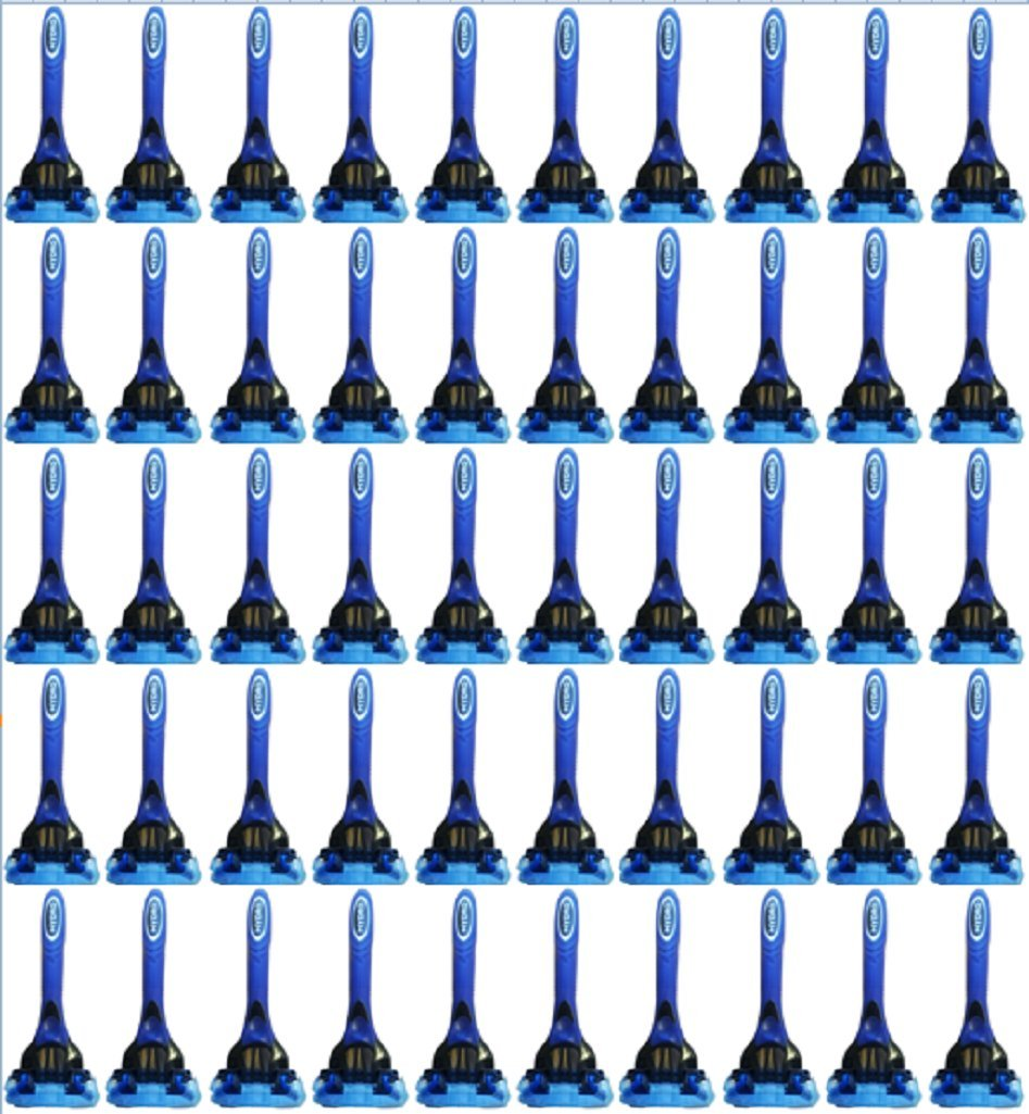 Schick Hydro 5 for Men Disposable Razors - Lot of 50 - Bulk