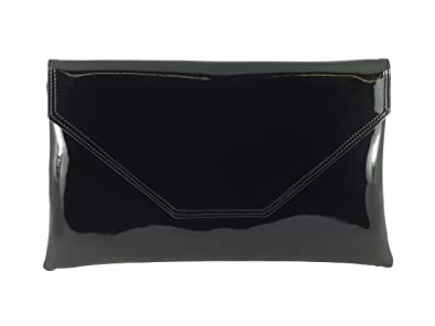 Loni Stylish Large Envelope Patent Clutch Bag/Shoulder Bag Wedding ...