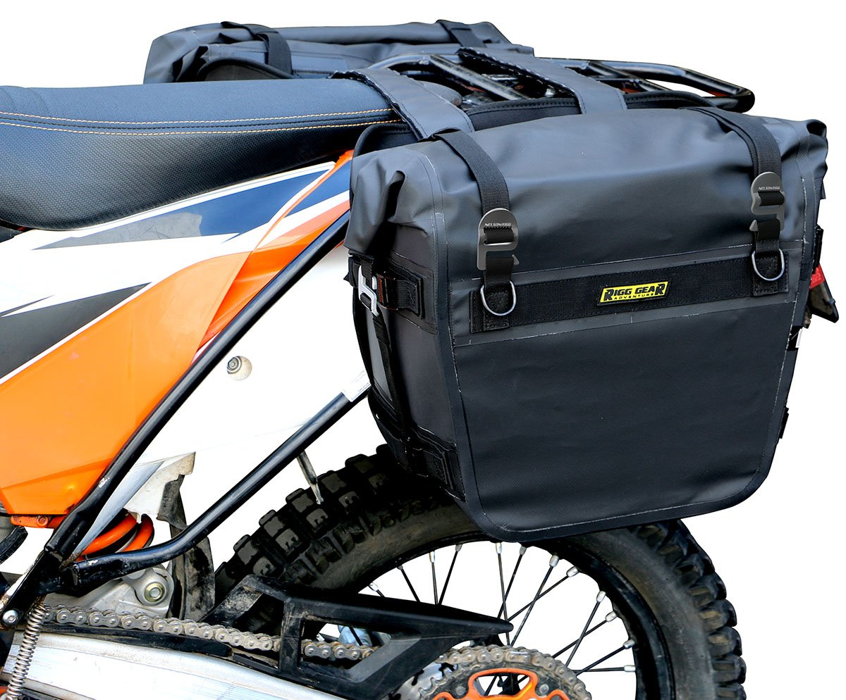 Nelson Rigg (SE-3050) Sierra Dry Saddlebags 100% Waterproof Mount to most Adventure and Dual Sport Motorcycles by Nelson-Rigg (Image #2)