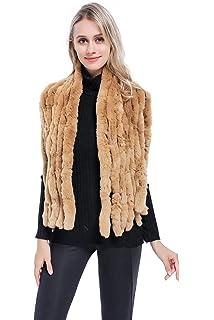 bce87e0b2cb29 MEEFUR Winter Real Fur Large Scarves Rex Rabbit Fur Shawls Knitted Furry Wraps  Women's Soft Neckwarmer