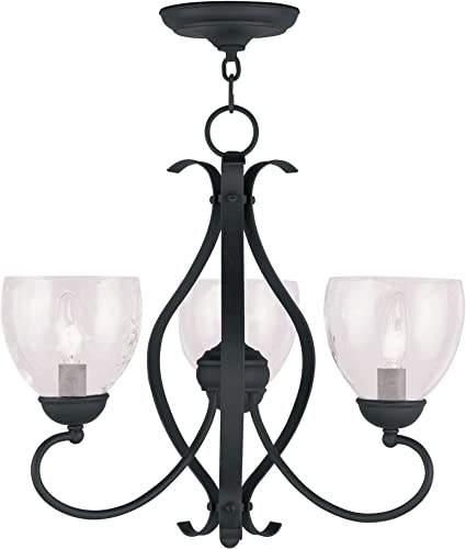 Livex Lighting 4807-04 Brookside 3-Light Chandelier