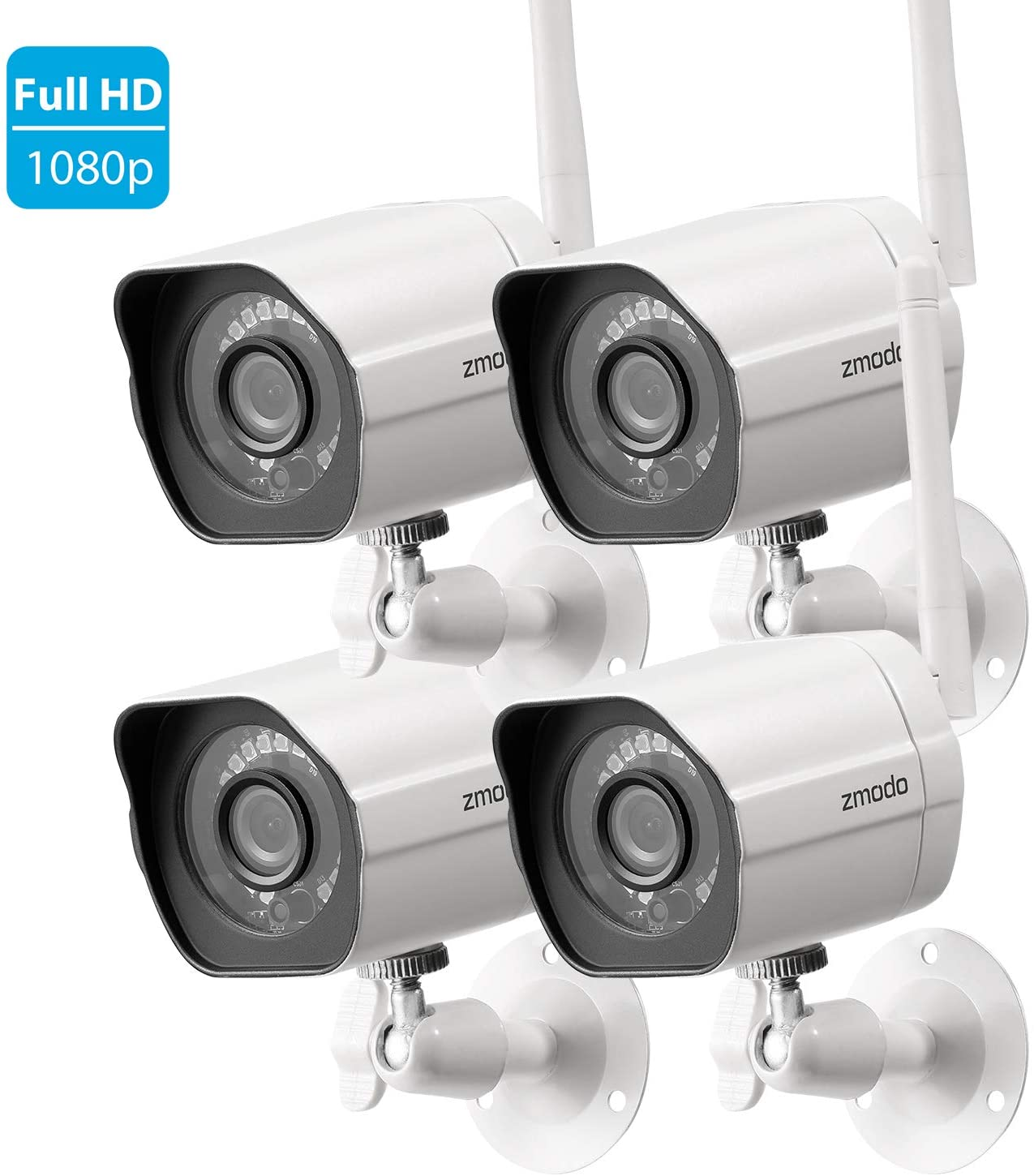 1080P Hd Cloud Cam Kits 6 Month Premium Cloud Recording Wireless Security Camera