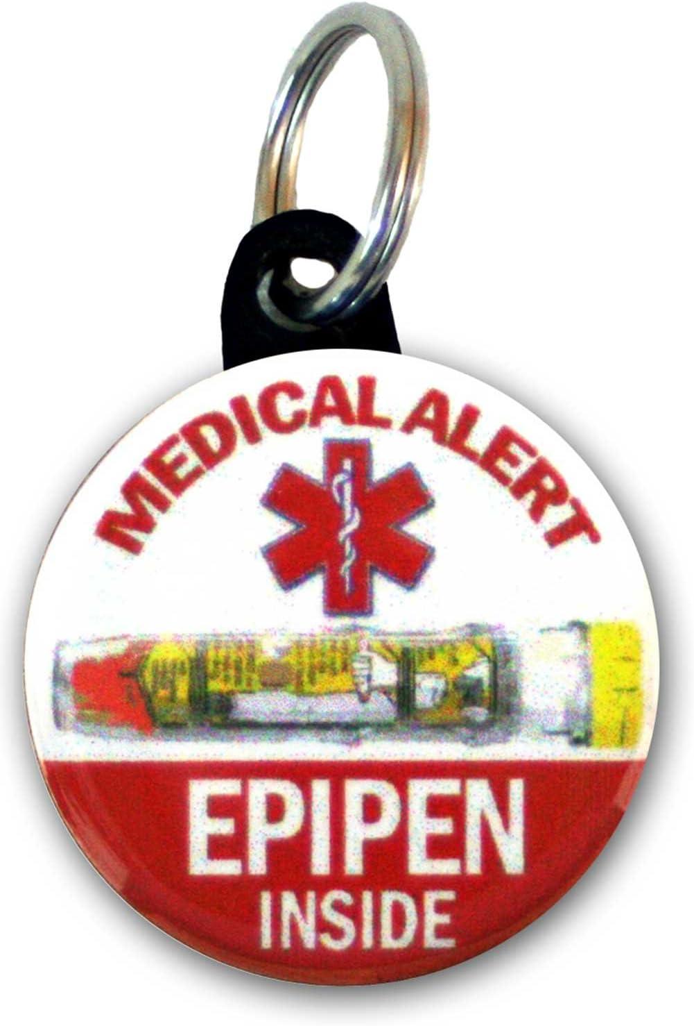 Buttonsmith Emergency Syringe Tag Set