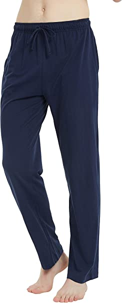 U2SKIIN Mens Cotton Pajama Shorts Lightweight Lounge Pant with Pockets Soft Sleep Pj Shorts for Men