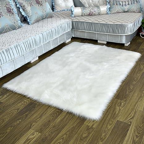 Amazon.com: Rugs JIANMING - Mantel de lana de imitación de ...