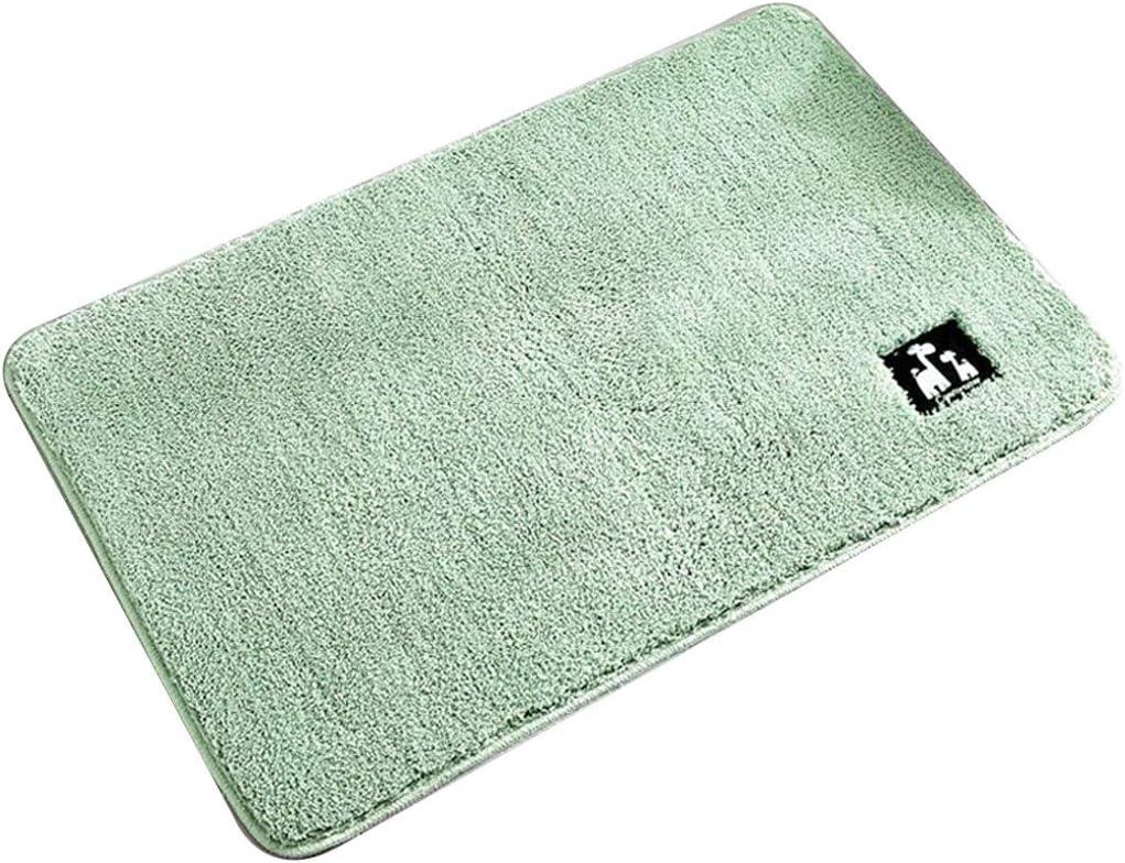 Color : Beige, Size : 40 * 60cm HONGNA-carpet Badezimmer-Matten-Gerichts-Farben-Badezimmer-saugf/ähige Matten In Die Teppichmatten In Die T/ür-Matte