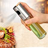 moiitee 油スプレー ミスト 100ml ステンレス 調理器具 ボトル 酢/油/醤油/調味料/化粧水