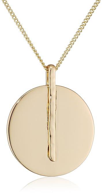 Pilgrim Women Gold Plated Statement Necklace - 121742021 WfUFT