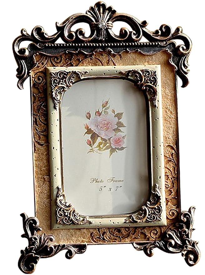 Amazon.de: Giftgarden Bilderrahmen 13x18 Gold Vintage Fotorahmen ...
