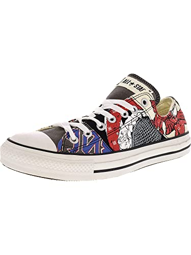 e994549dda9f Converse Chuck Taylor Stitch Rock Ox Black White Ankle-High Canvas Fashion  Sneaker - 11M 9M  Converse  Amazon.in  Shoes   Handbags