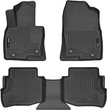 3D MAXpider L1MZ05711509 Black All-Weather Floor Mat for Select Mazda Cx-9 Models Front Row