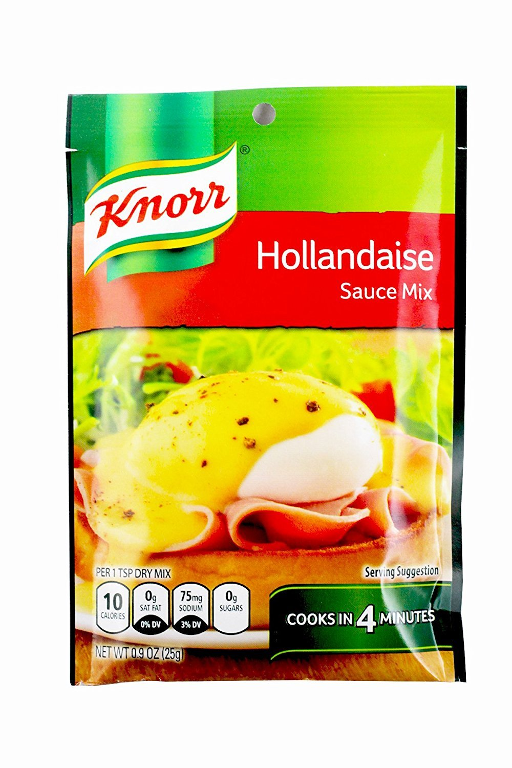 KNORR MIX SCE CLSC HOLLANDAISE, 0.9 OZ, Pack of 6 by Knorr