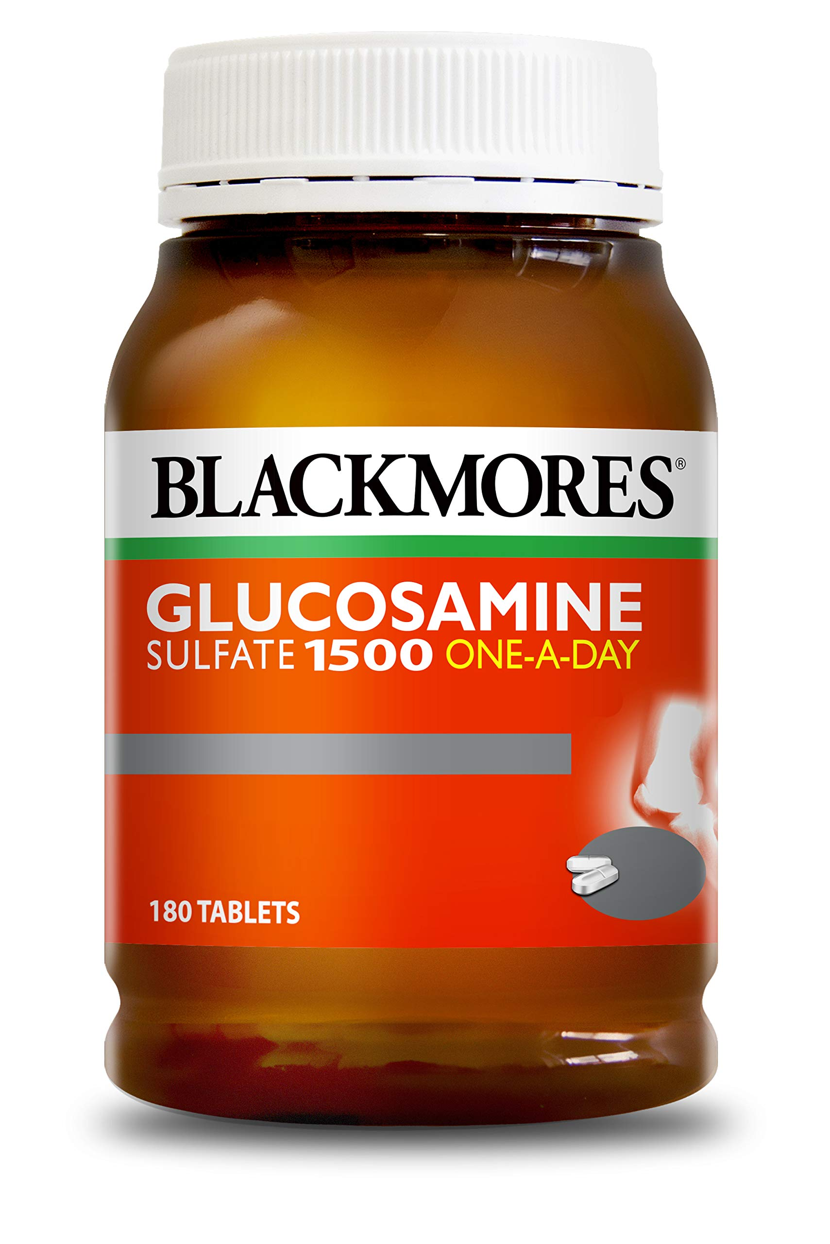 BLACKMORES BONES AND JOINTS Glucosamine 1500mg 180 Tablets by Blackmores LTD