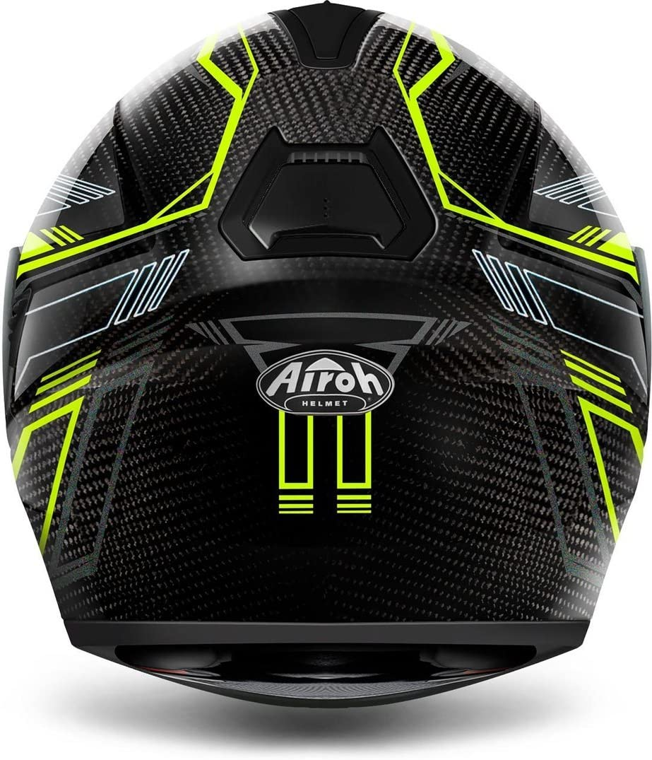 Airoh INTEGRAL HELM Motorradhelm ST 701 SAFETY FULL CARBON YELLOW XL