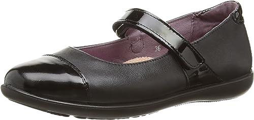 Ricosta Lyla Girls Black Leather Medium Fit School Shoes-100/% Positive Reviews