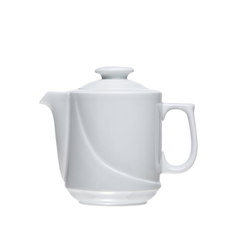 Cafetera/tetera (en 3 tamaño), color blanco porcelana, restaurante ...