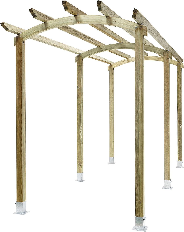 Classic arco Pergola pasarela estructura de madera de jardín: Amazon.es: Hogar