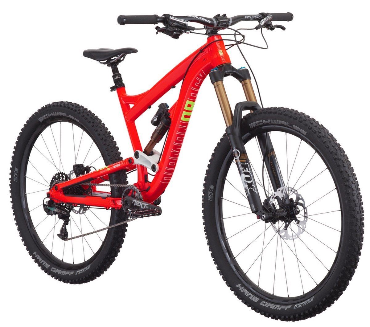 DiamondBack Mission Pro - Bicicleta de enduro, color rojo, 15