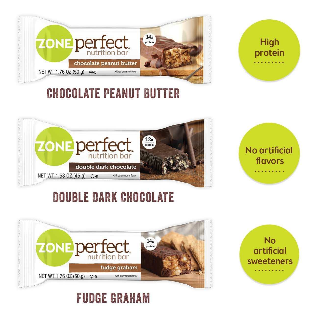 ZonePerfect Nutrition Snack Bars, Variety Pack, (36 Count) by Zoneperfect Classic (Image #2)