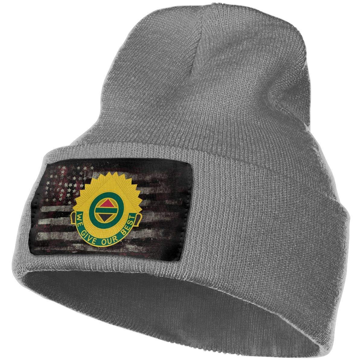 Army 14th Military Police Brigade Unit Crest Mens Beanie Cap Skull Cap Winter Warm Knitting Hats.
