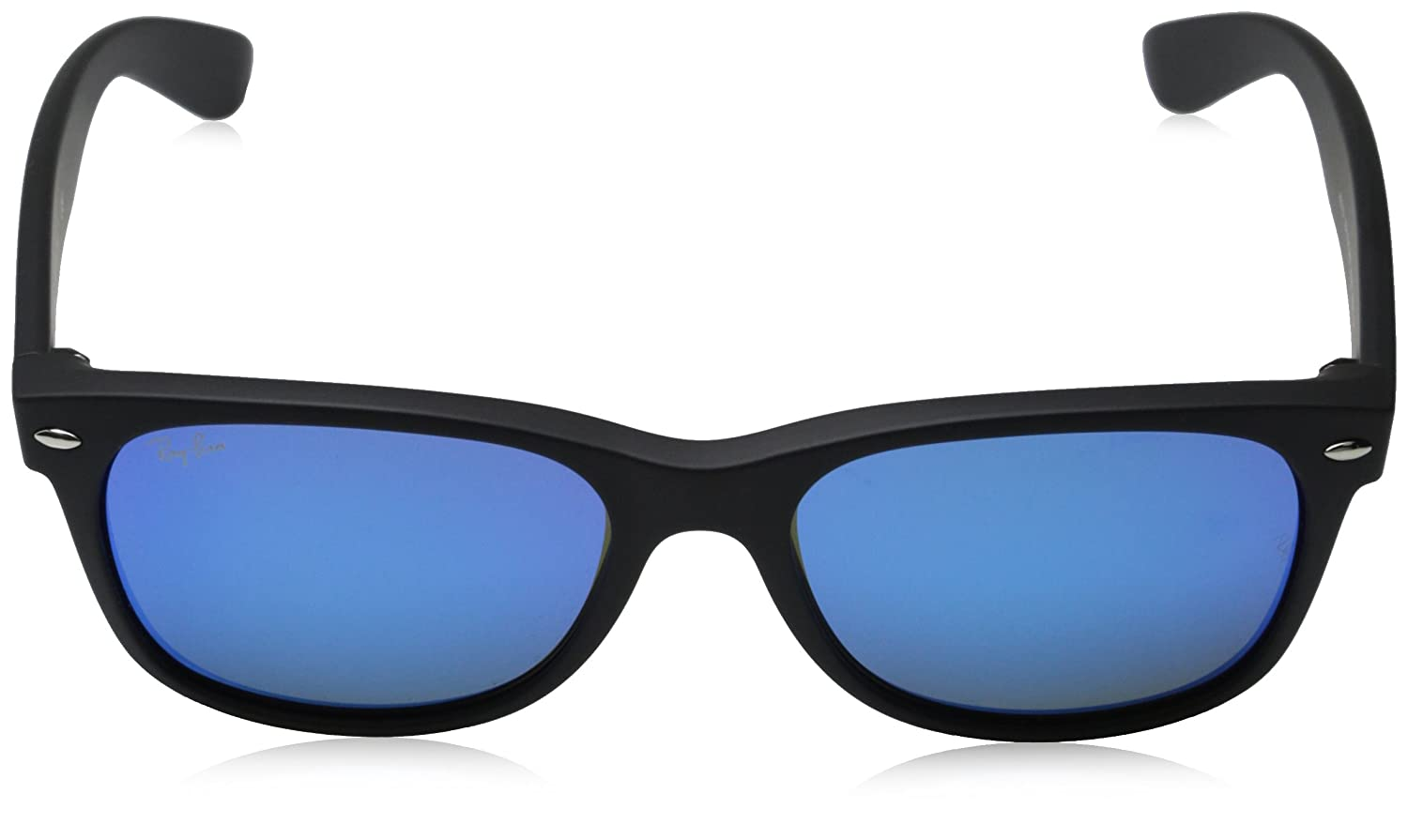 f55ffec35f5 Amazon.com  Ray-Ban Unisex New Wayfarer Flash RB2132 622 17 Non-Polarized  Sunglasses
