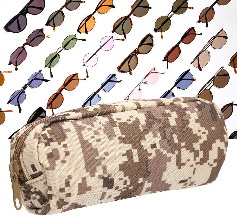 Custodia Antiurto Portatile per Occhiali da Sole Custodia Protettiva per Occhiali Trasporto Alomejor Custodia per Occhiali da Sole