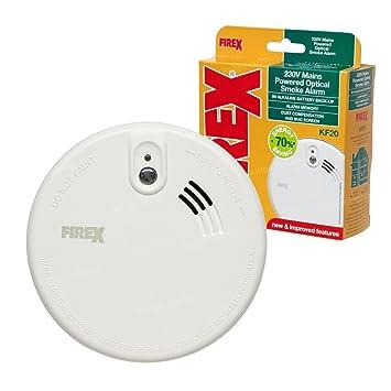 Alarma Optica anti humo de alimentación de red New Kidde ...
