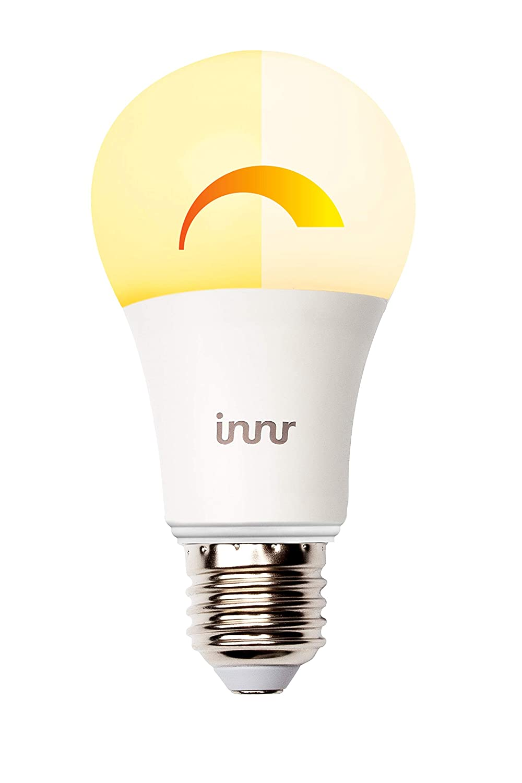 innr E27 Smart LED Lampe, Warm Dimbare, 2200K – 2700K, kompatibel mit Echo Plus und Philips Hue, RB 175 W