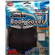 "It's Academic Premium Edition Super Stretch Book Cover: Black - Fits 10"" X 15"" Textbooks Guaranteed!"