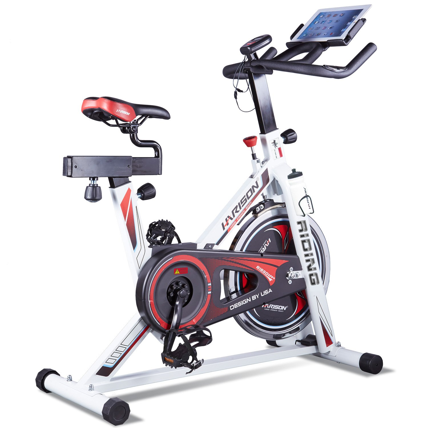 Harison Pro Indoor Cycling Bike With Table Holder Exercise