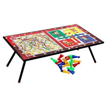 JLG Multipurpose Ludo Table Board, Bed Study Table & Laptop Support Table