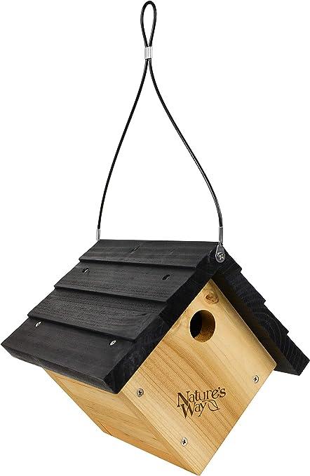 Nature's Way Bird Products CWH1 Cedar Wren House, 8