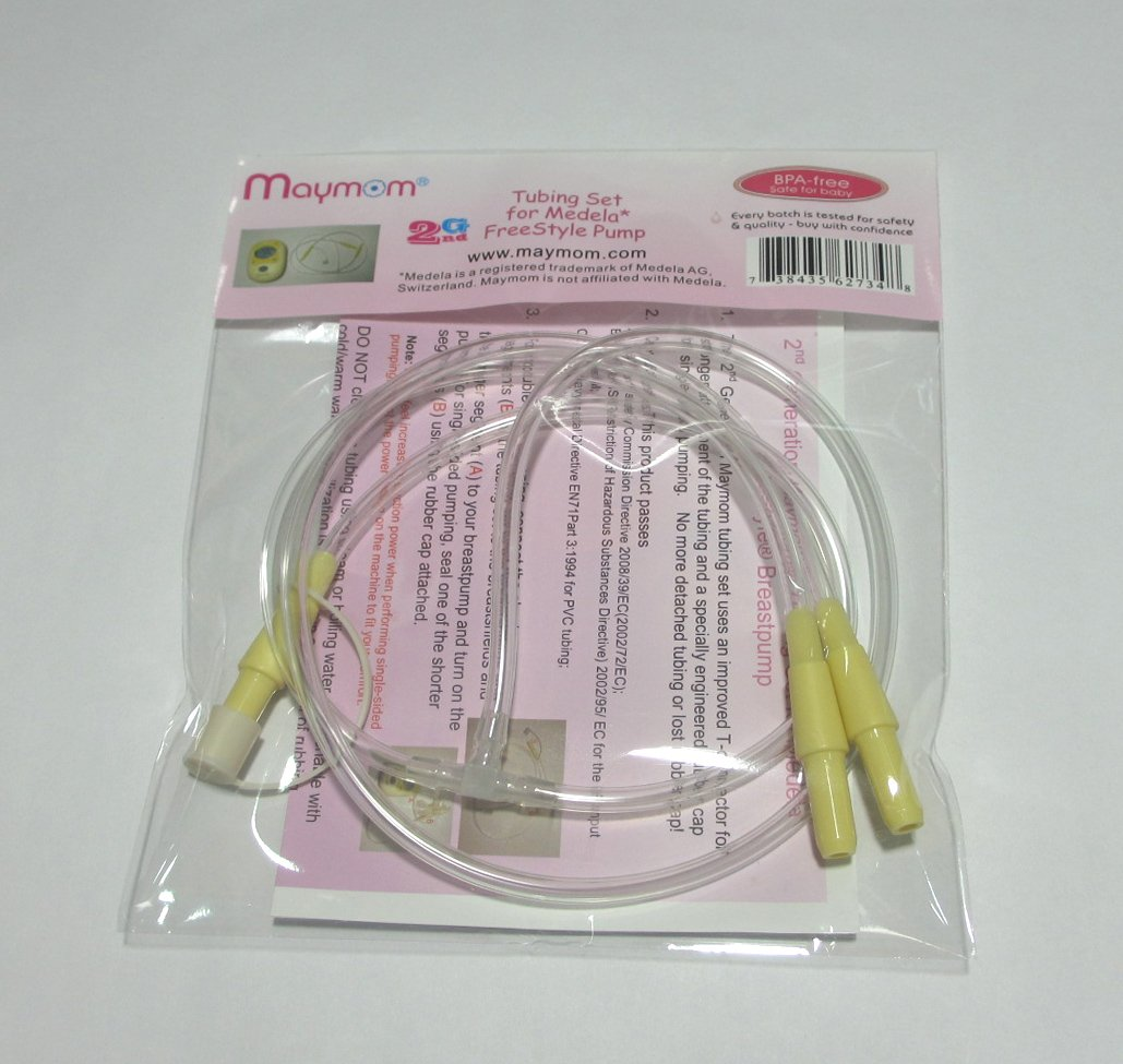 Maymom Tubing Set for Medela FreeStyle Breastpump M011-FS