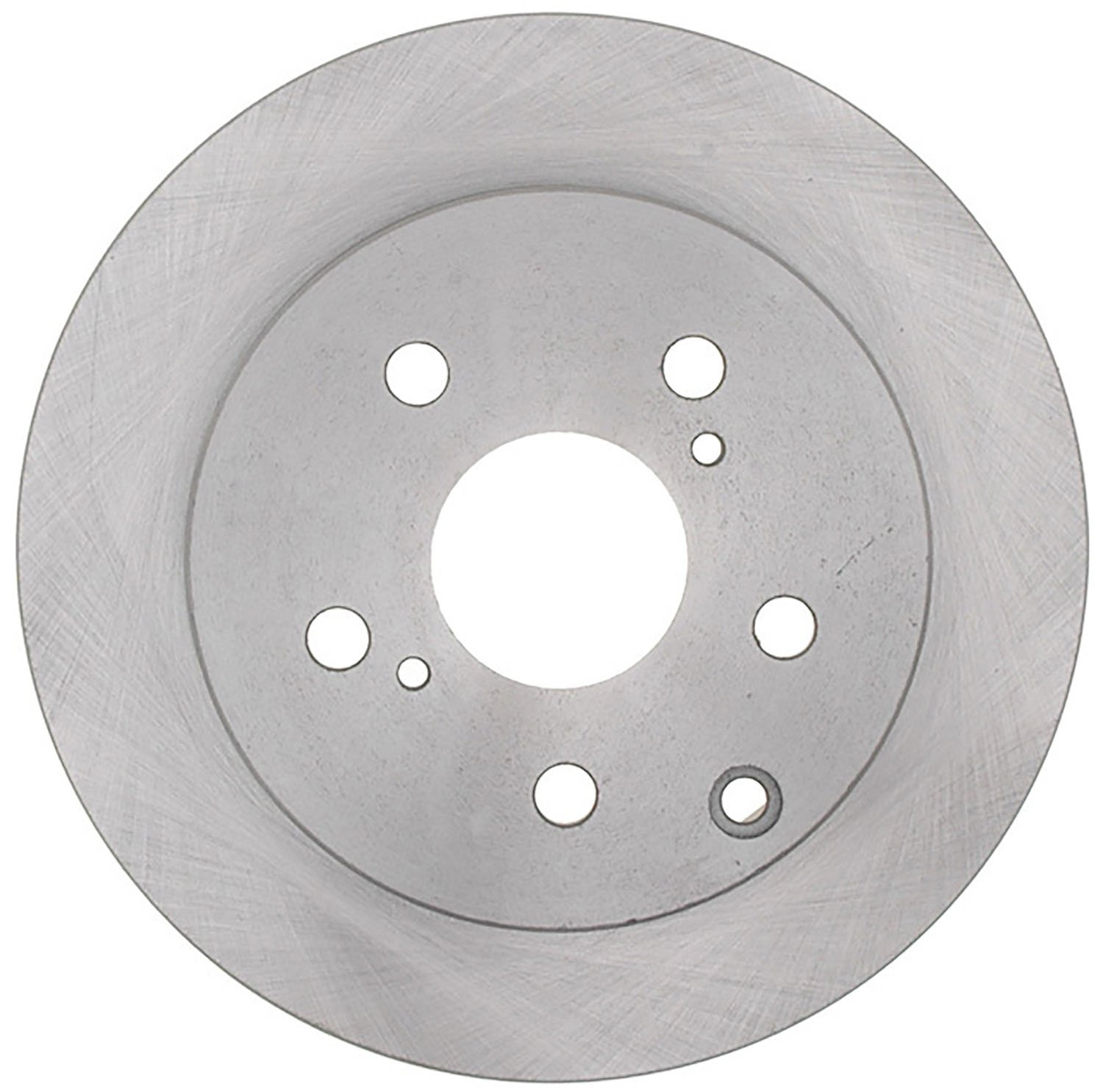 ACDelco 18A2543AC Advantage Coated Rear Disc Brake Rotor