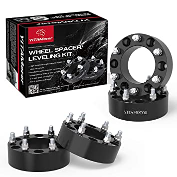 amazon com chevy silverado wheel spacers 6 lug yitamotor 2 forged