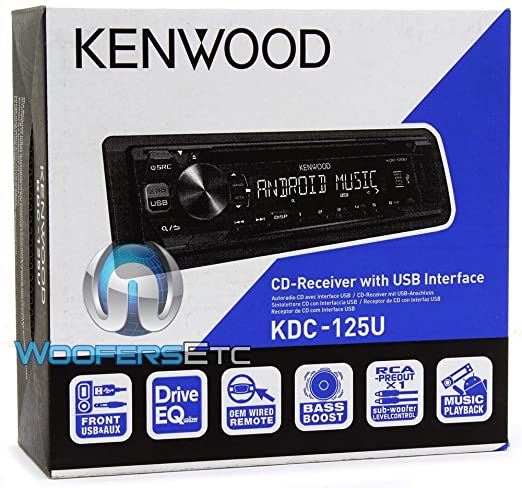 71iRKTeMTAL._SX522_ amazon com kenwood kdc 125u cd receiver usb aux cache 3 5mm 6ft kenwood kdc 155u wiring diagram at edmiracle.co