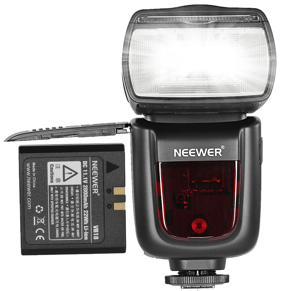 Neewer Tt850 Li Ion Battery Flash Speedlite For Canon Xiaomi Yi International Ampamp China Version Complete Set Baterai Charger Nikon Pentax Olympus And All Other Slr Dslr Cameras Camera Photo