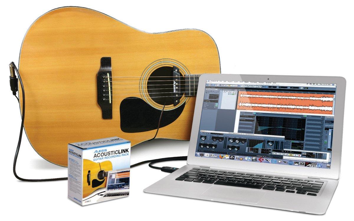 Alesis Acoustic Link USB-Recordingkabel mit Tonabnehmer für Akustik ...