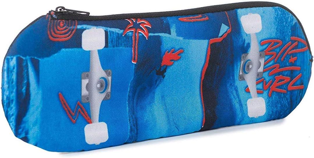 Rip Curl Skateboard Pencil Case - Blue: Amazon.es: Oficina y papelería