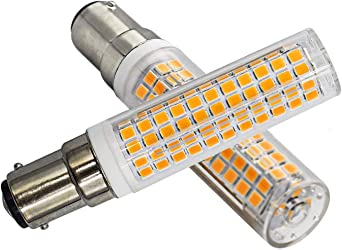 7 W B15d Led Dimmable Warm White 3000 K B15d 100 W Halogen Bulb Replacement B15d 230 V Super Bright Light Bulb Pack Of 1 Amazon De Beleuchtung