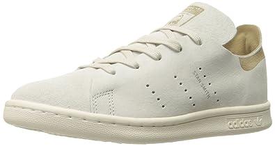 c3212dc2f2d adidas Originals Boys' Stan Smith Fashion C Running Shoe, Clear/Brown/Linen