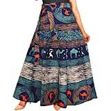 jwf Women's Long Indo Western Traditional Skirt