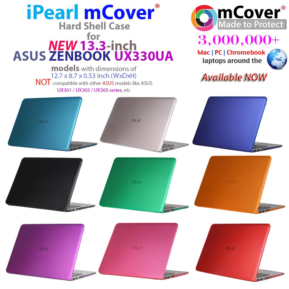 Amazon.com: mCover Hard Shell Case for 13.3-inch ASUS ZENBOOK UX330UA Series (NOT Fitting UX305 Series) Laptop (Pink): Computers & Accessories