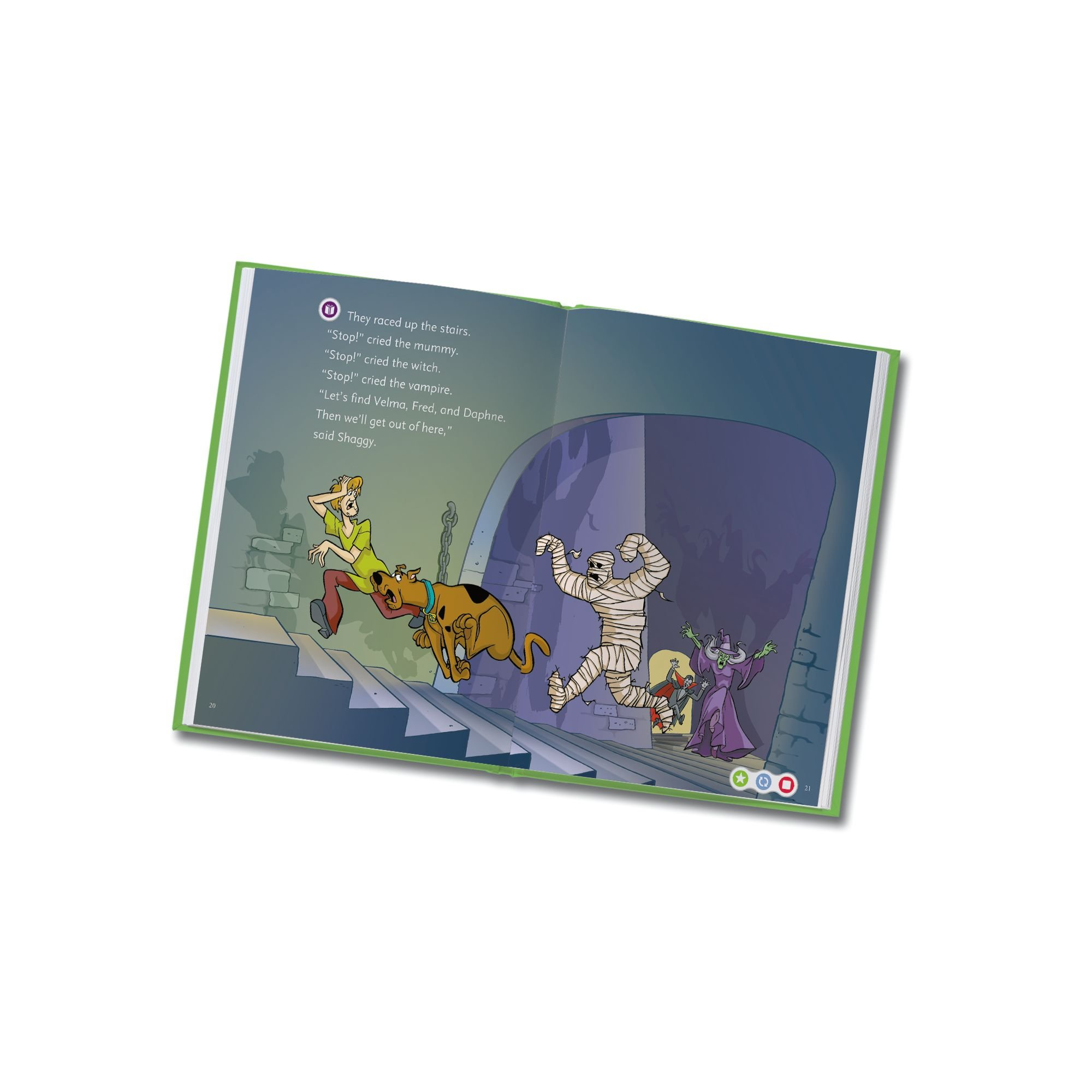 LeapFrog LeapReader Book: Scooby-Doo! Shiny Spooky Knights (works with Tag) by LeapFrog (Image #7)