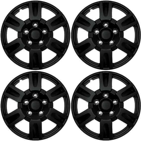 amazon cover trend set of 4 black matte aftermarket 16 inch 86 Chevy Pickup amazon cover trend set of 4 black matte aftermarket 16 inch hubcaps for nissan altima replica wheel covers automotive