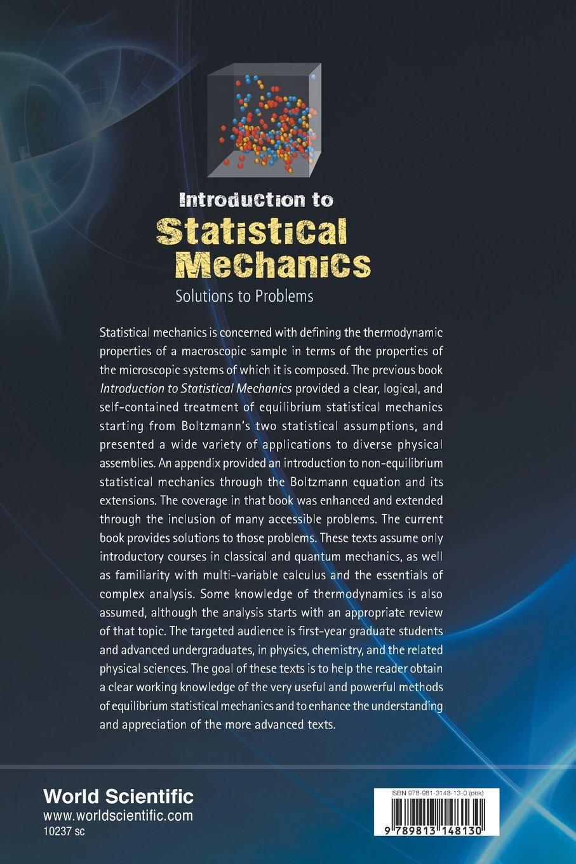 problems on statistical mechanics dalvit