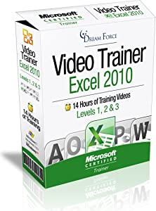Excel 2010 Training Videos – 14 Hours of Excel 2010 training by Microsoft Office: Specialist, Expert and Master, and Microsoft Certified Trainer (MCT), Kirt Kershaw