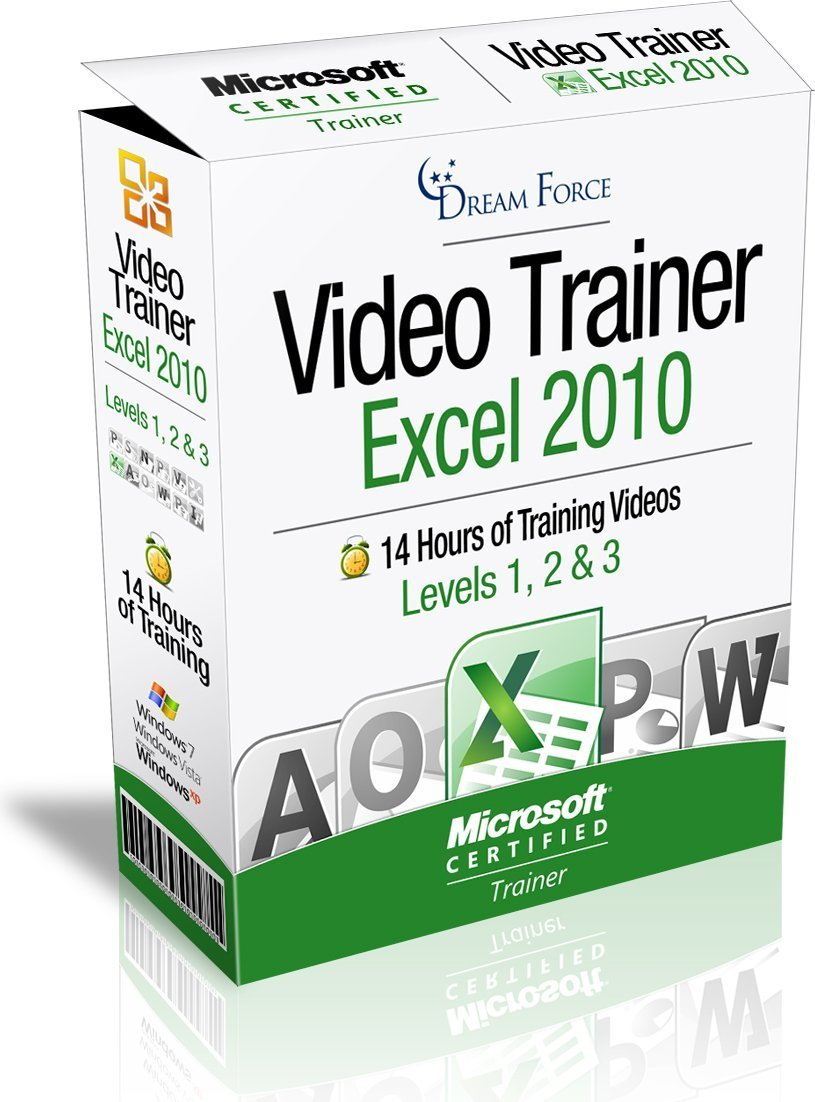 Excel 2010 Training Videos - 14 Hours of Excel 2010 training by Microsoft Office: Specialist, Expert and Master, and Microsoft Certified Trainer (MCT), Kirt Kershaw by DreamForce LLC