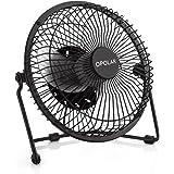 opolar f501 desktop usb fan with upgraded 6 inch blades enhanced airflow lower noise ben office fan