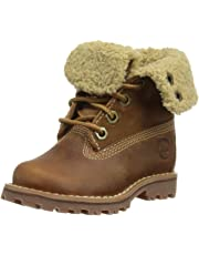 e7f22088ba3a0f Timberland Unisex-Kinder 6 in Premium Waterproof Shearling Lined Klassische  Stiefel